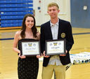 Spring athletes honored