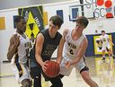 Varsity boys' team advances to district semifinals