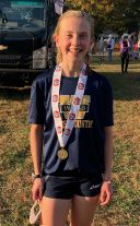 Cheeseman '25 Cross Country Div. II-A Girls State Champion