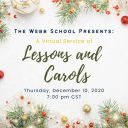 Join us for Virtual Service of Lessons and Carols Dec. 10